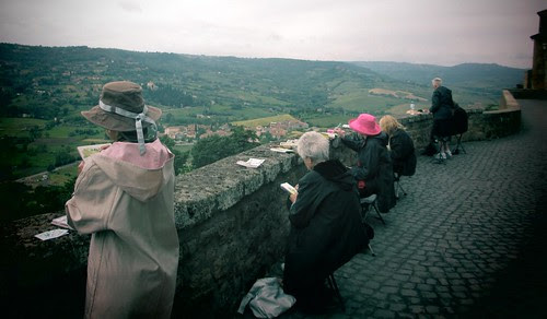 Orvieto: painting the landscape