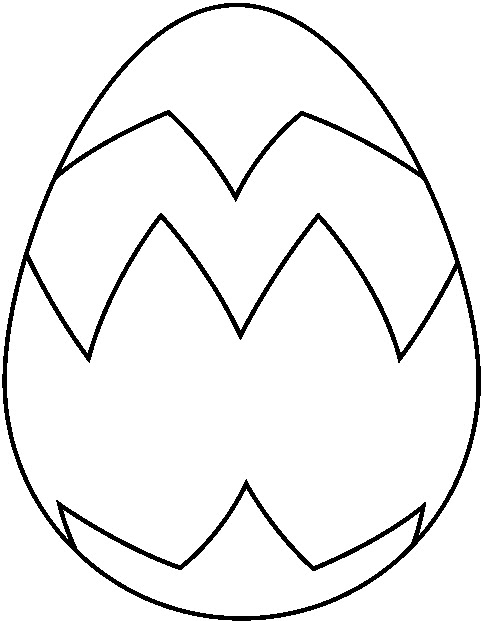Clipart Easter Egg Black And White Clipart 2 Clipartingcom