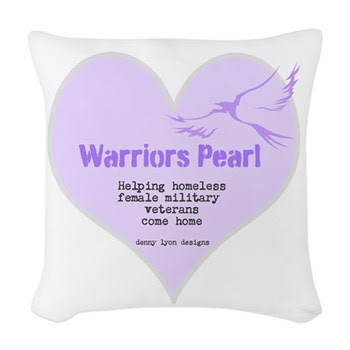 Warriors Pearl Woven Throw Pillow