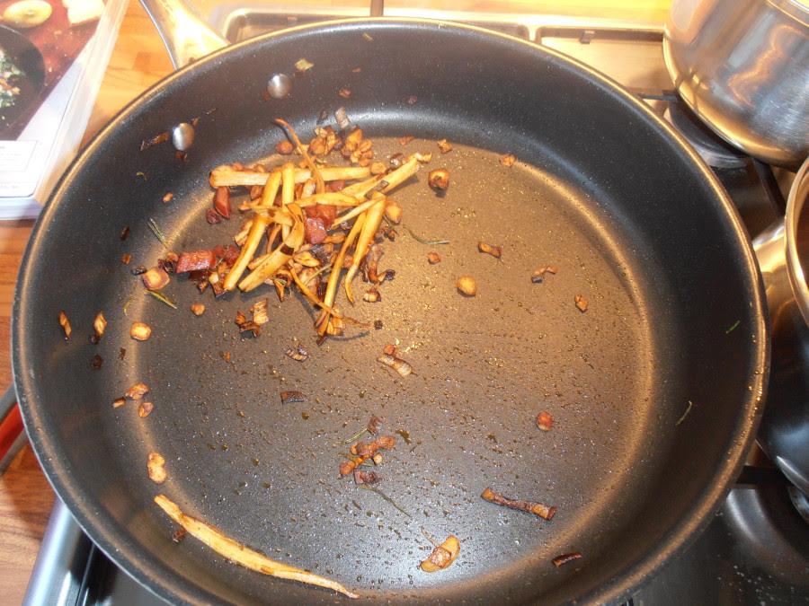 Fried salsify