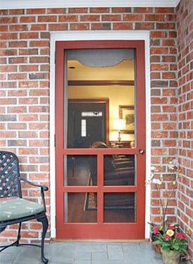 Wood screen doors for Hideaway screen doors home depot