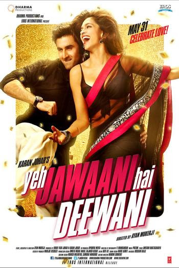 Yeh Jawaani Hai Deewani 2013 Hindi 480p BrRip 450MB, Yeh Jawaani Hai Deewani 2013 Hindi movie 480p brrip bluray 400mb free download 300mb or watch online at world4ufree.ws