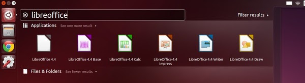 Start LibreOffice 4.4