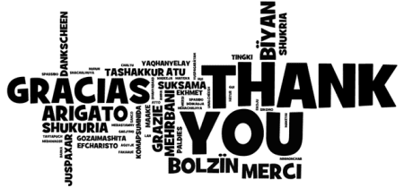 Nossos agradecimentos