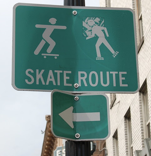 Portland Vacation: Skate Route