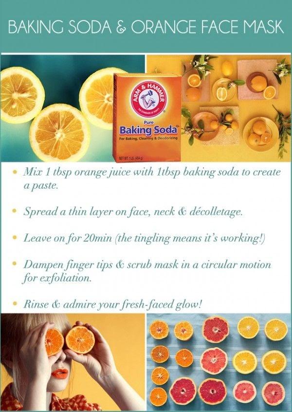 Diy Face Mask Orange
