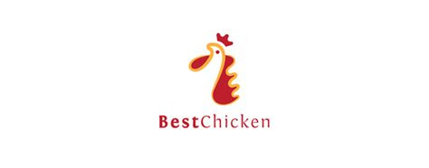 creative rooster  chicken logo design examples