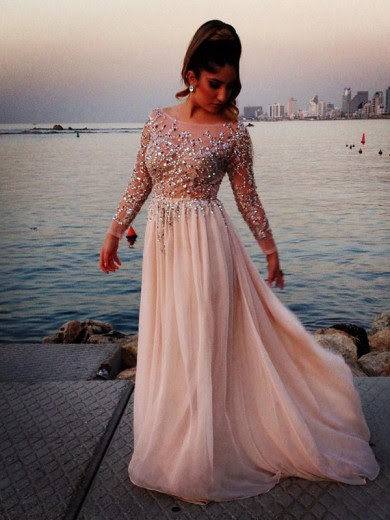 Evening dresses with sleeves ebay