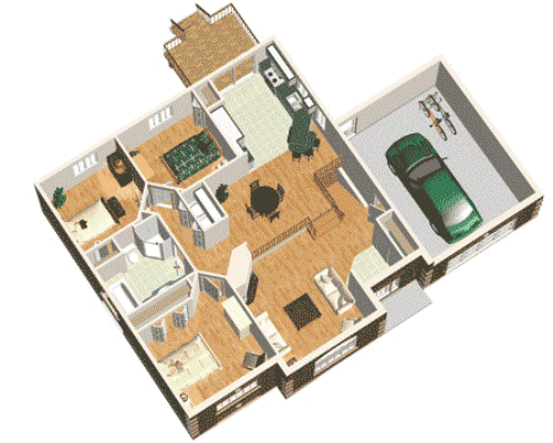 Denah Rumah Minimalis 3 Kamar Tidur 1 Lantai Untuk Keluarga Rumahminimalis Com