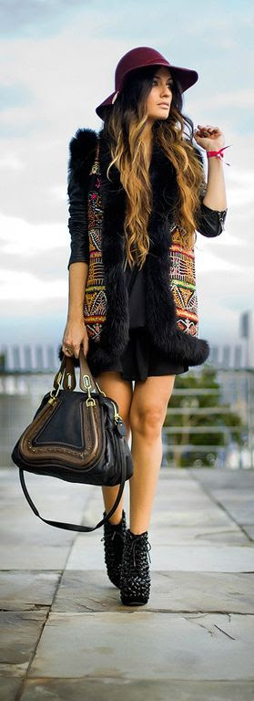 Boho Chic - Street Style