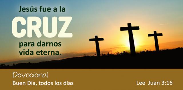 JESUS FUE A LA CRUZ