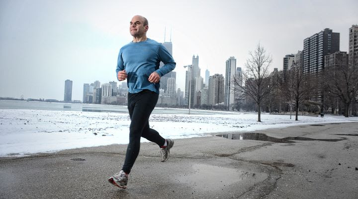 Running Man Δεν καίγεται περισσότερο λίπος με άδειο στομάχι