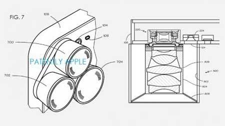 أبل تكشف عن تقنية مغناطيسية لكاميرات أيفون المقبلة