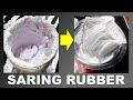 Cara Menyaring Tinta Rubber Menggumpal Jadi Halus Istimewa