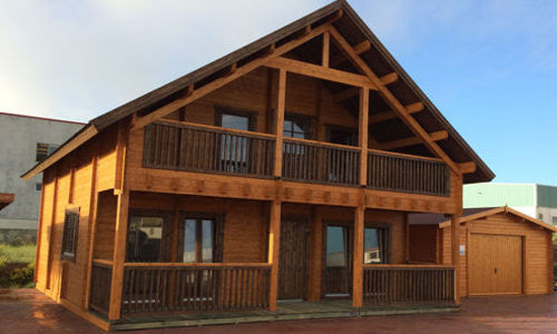 Casas de madera prefabricadas casas de madera canarias for Casas de campo en alquiler baratas en sevilla