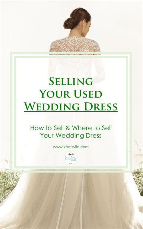 How To Sell Your Wedding Dress And Where To Do So