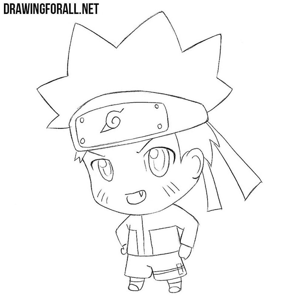Naruto drawing zona naruto