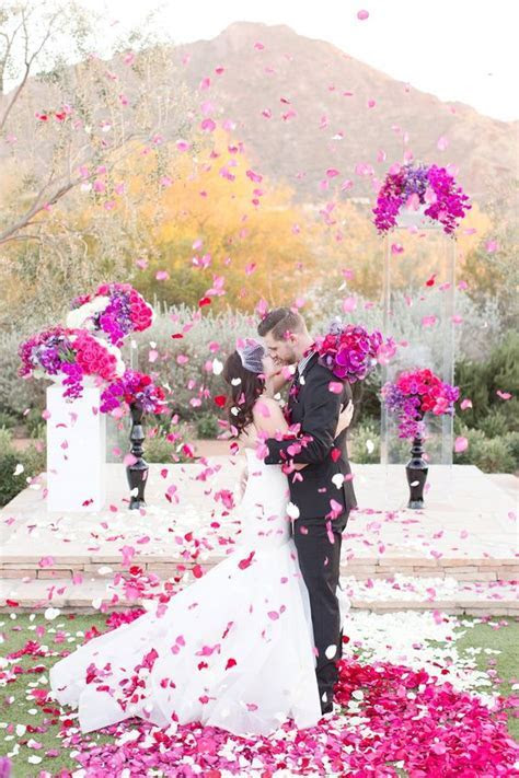 30 Fuchsia & Hot Pink Wedding Color Ideas   Deer Pearl Flowers
