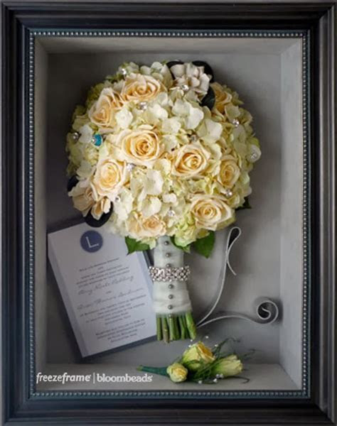 Frame Your Wedding Flowers: Wedding Flower Preservation