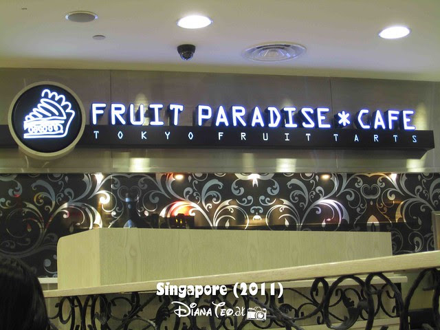 Day 2 Singapore - Fruit Paradise Cafe 01