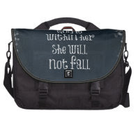 God is Within Her, She Will Not Fall Bible Verse Laptop Bags