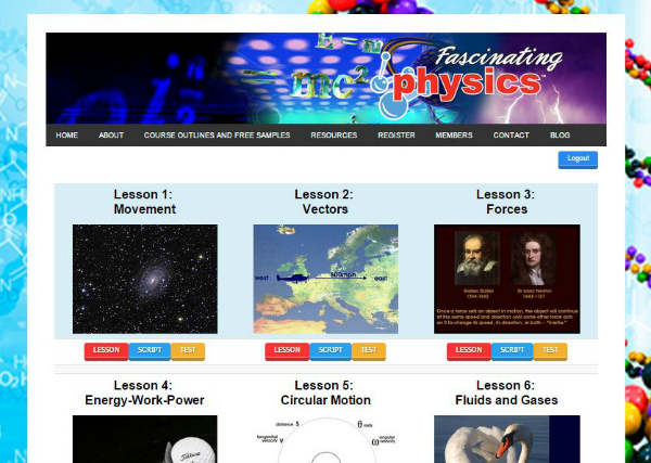 A thorough physics course ~ Fascinating Physics from Fascinating Education