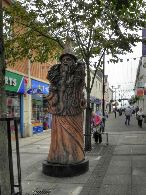 Merlin's Walk, Carmarthen