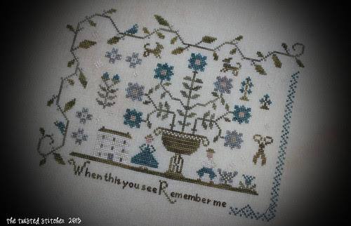 Forget Me Not Sampler 3