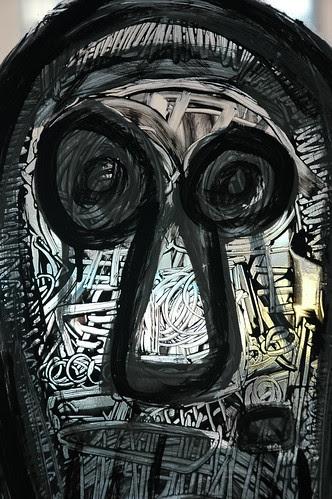 Detail, Window Painting, Le Toukouleur