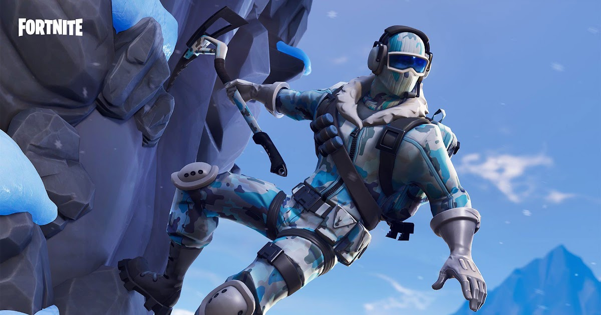 Fortnite Frostbite Skin Pro Game Guides Free Coloring Pages