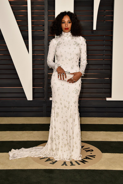 Solange Knowles in Naeem Khan