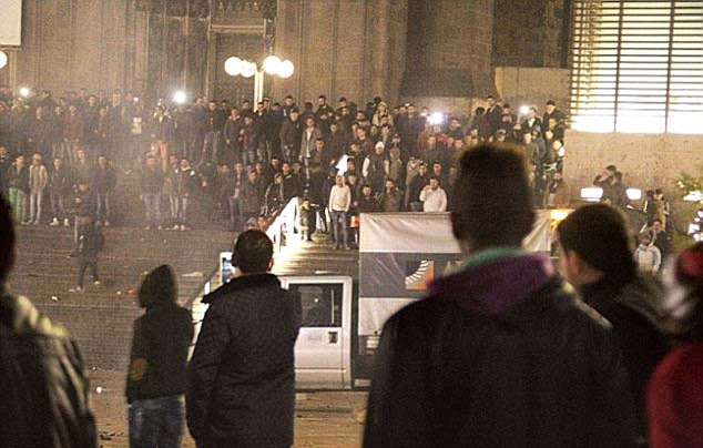 It follows New Year riots in Cologne triggered by a number of sexual assaults made against local women by a group of up to a 1,000 men 'of Arab and North African origin'