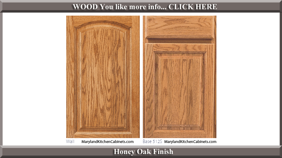 513 - Oak - Cabinet Door Styles and Finishes   Maryland ...