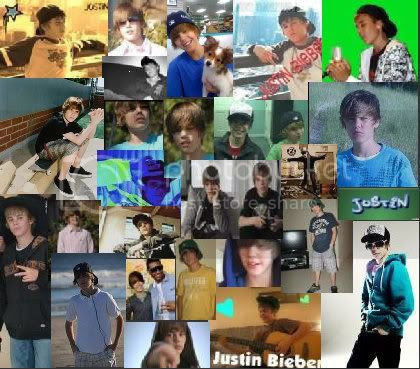 justin bieber collage Image