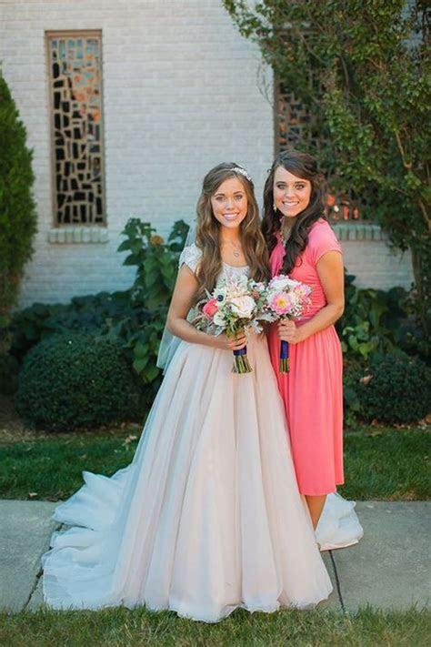 Jessa Duggar Reveals Why She Wore a Pink Wedding Dress on