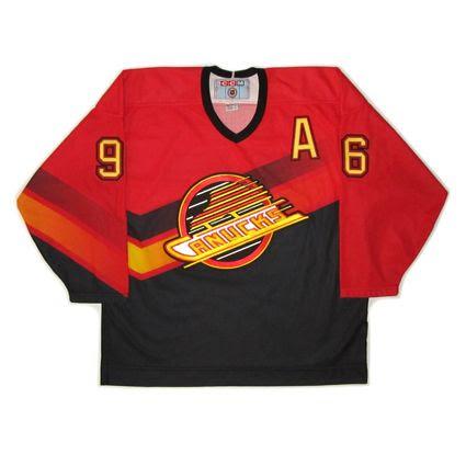 Vancouver Canucks 95-96 alt jersey, Vancouver Canucks 95-96 alt jersey