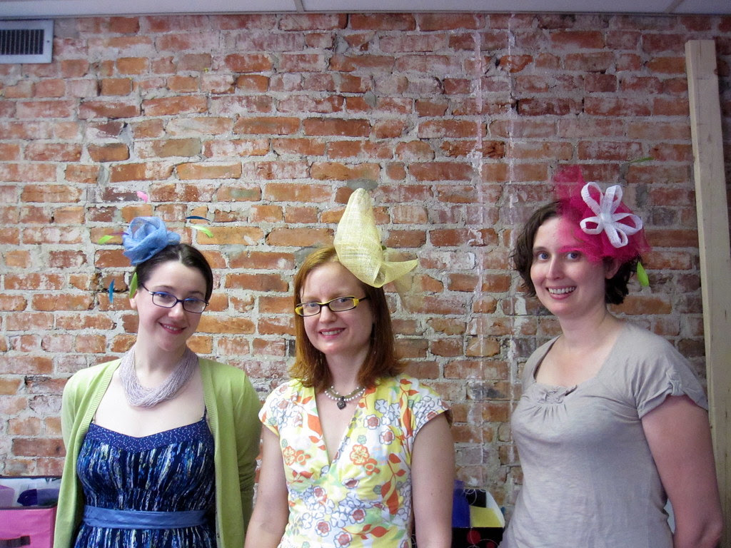 Class with Finished Hats