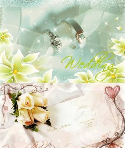 FULL WALLPAPER: Wedding card templates