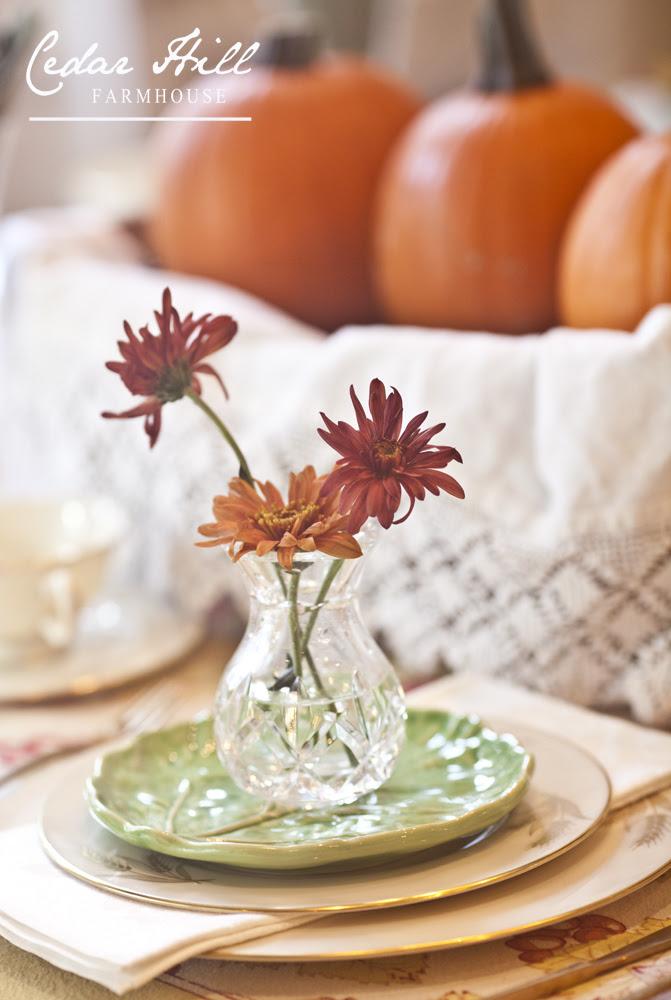 flowers-on-plates