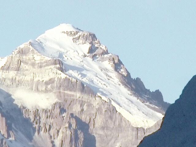 Aconcagua mountain (6,959 m)