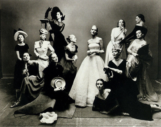 12 beauties, Irving Penn - we are family