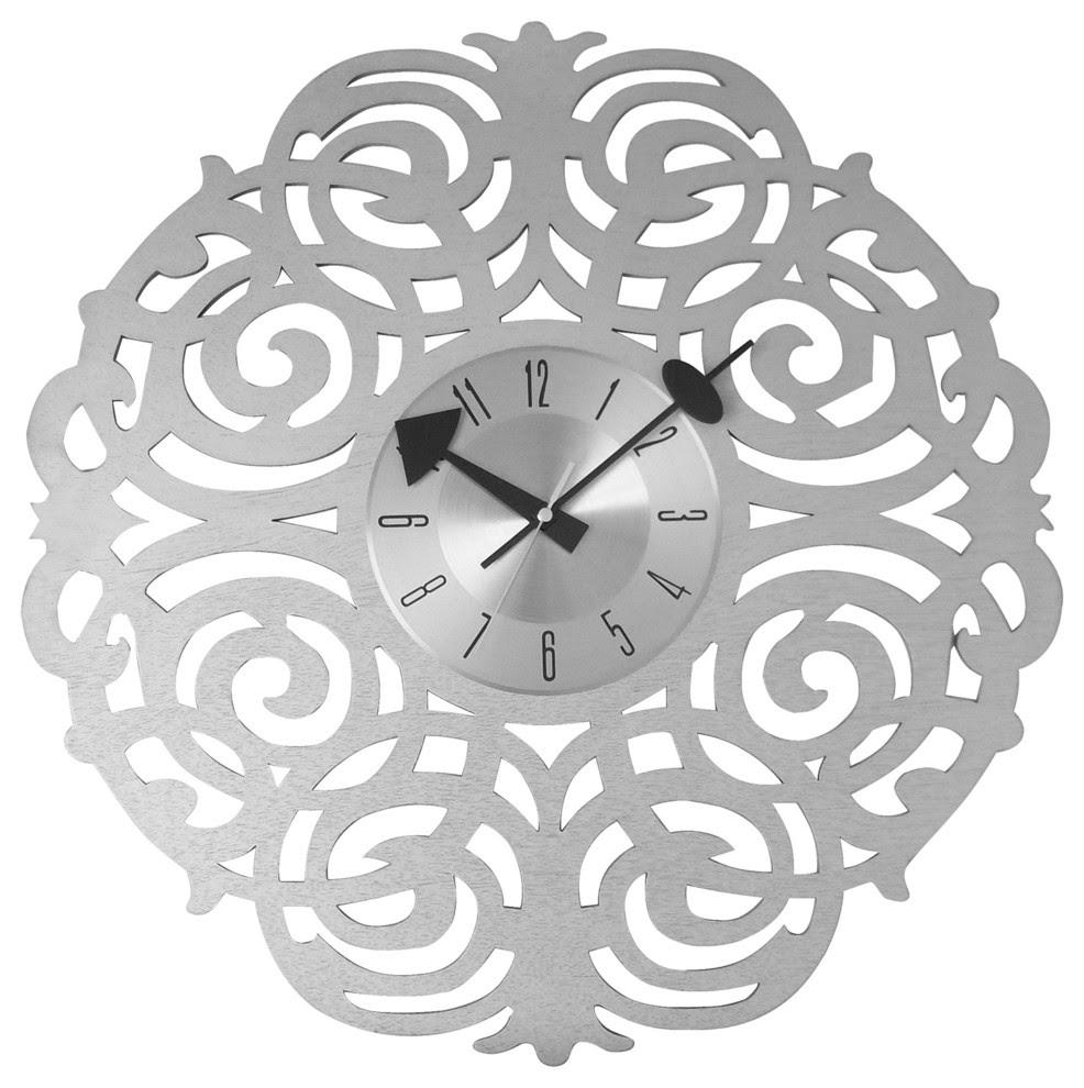 """Spring Blossem 20"""" Wall Clock"""