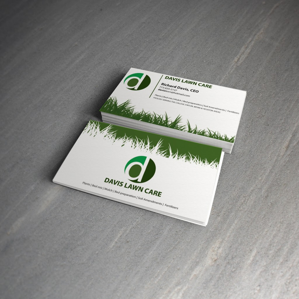 lawn care business cards templates free free resume