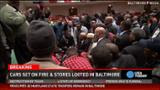Religious leaders try to quell Baltimore violence