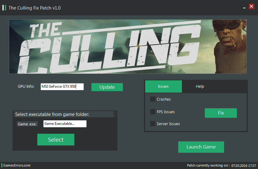 The Culling Errors Patch