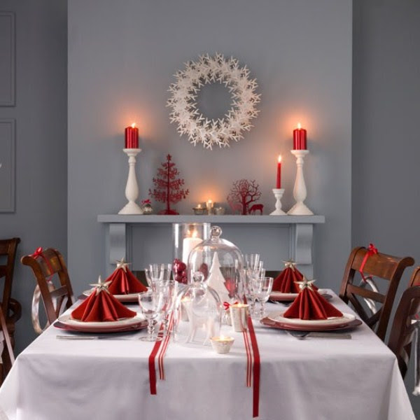 40 Christmas Decoration Ideas In All Shades Of Red | DigsDigs