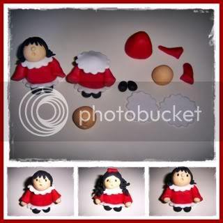 Bolo Coro de Natal 13