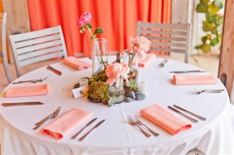 Modern Pink & Orange Beach Wedding   Every Last Detail