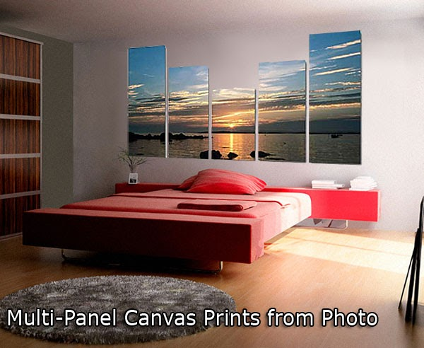 Turn Your Photo Into Art Multi Panel Canvas Prints