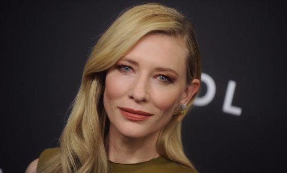 La actriz Cate Blanchett en el estreno de 'Carol'.